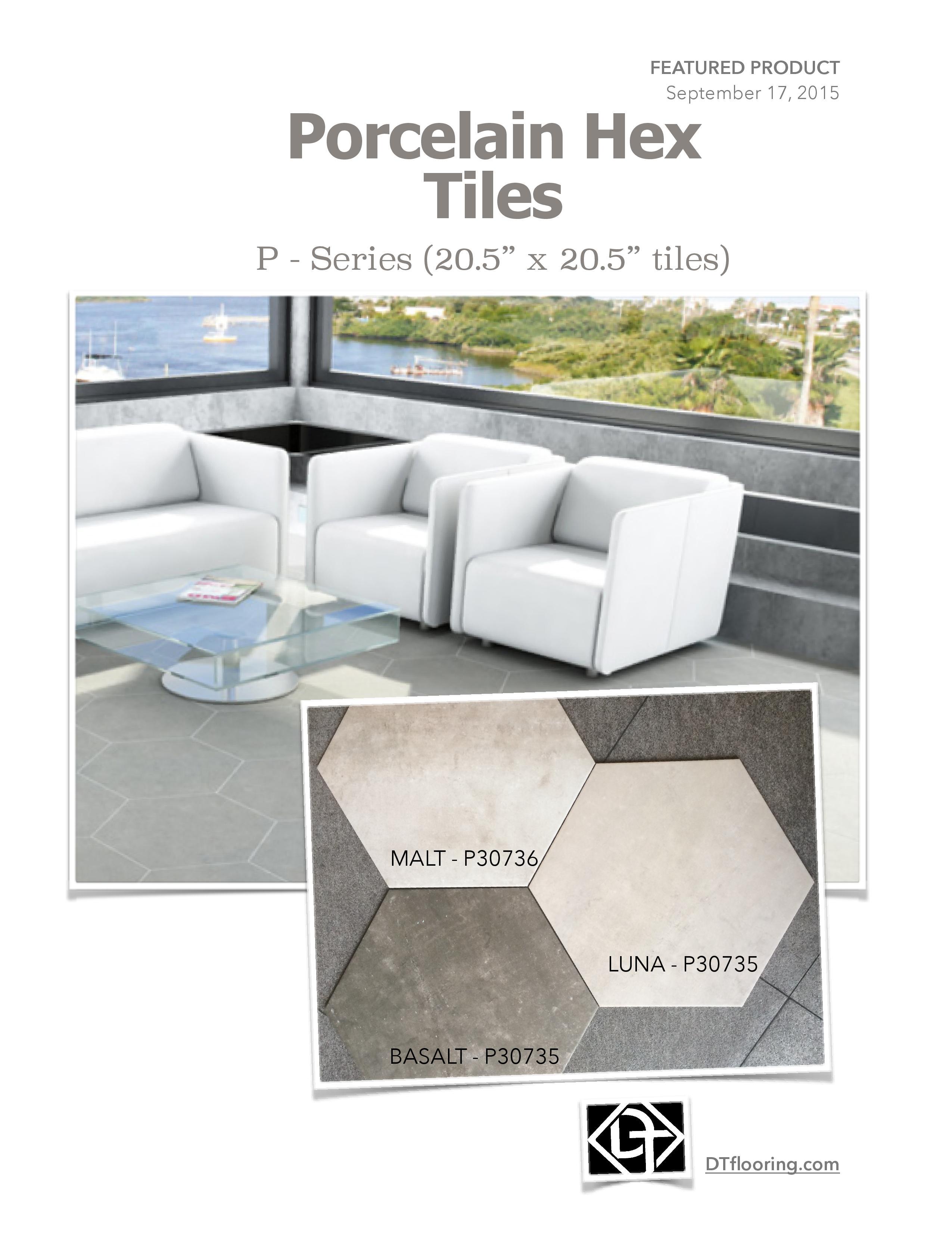 Hexagon Floor Tile By Dt Flooring Distributors